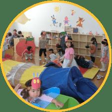 幼稚園の解放